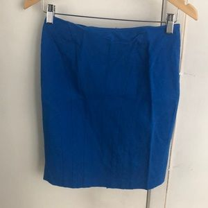 Banana Republic Royal Blue Pencil Skirt